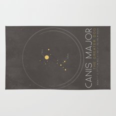 Canis Major - The Greater Dog Constellation Rug