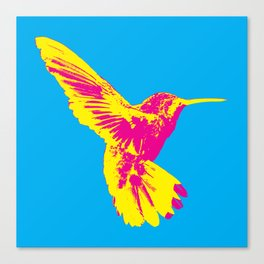 CMY Bird Canvas Print
