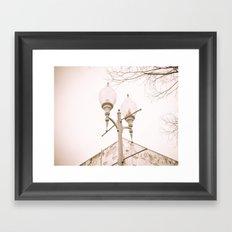 Up II Framed Art Print