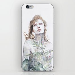 Breathe in, breathe out iPhone Skin