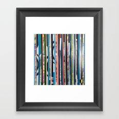STRIPES19 Framed Art Print