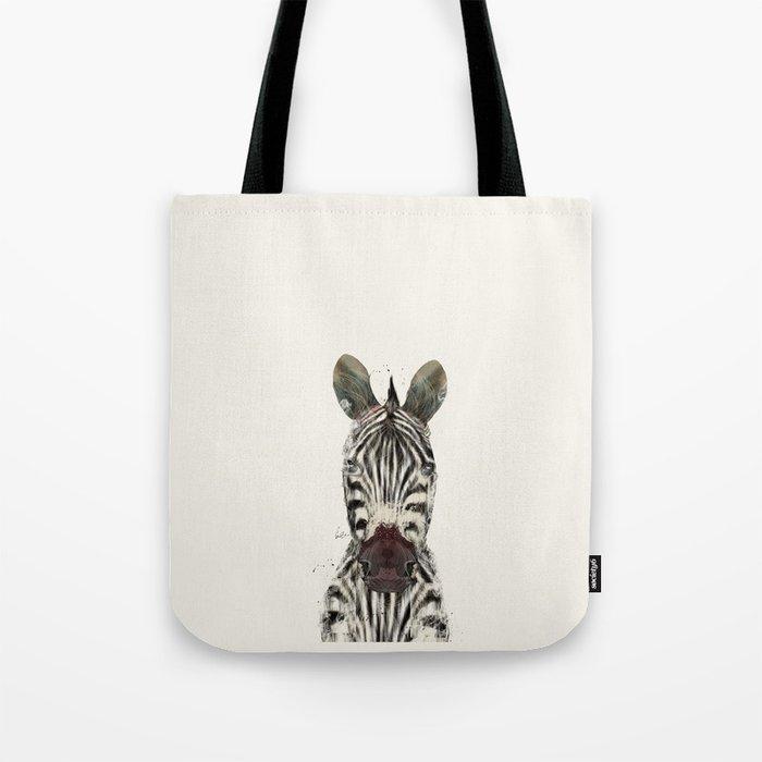 little zebra Tote Bag