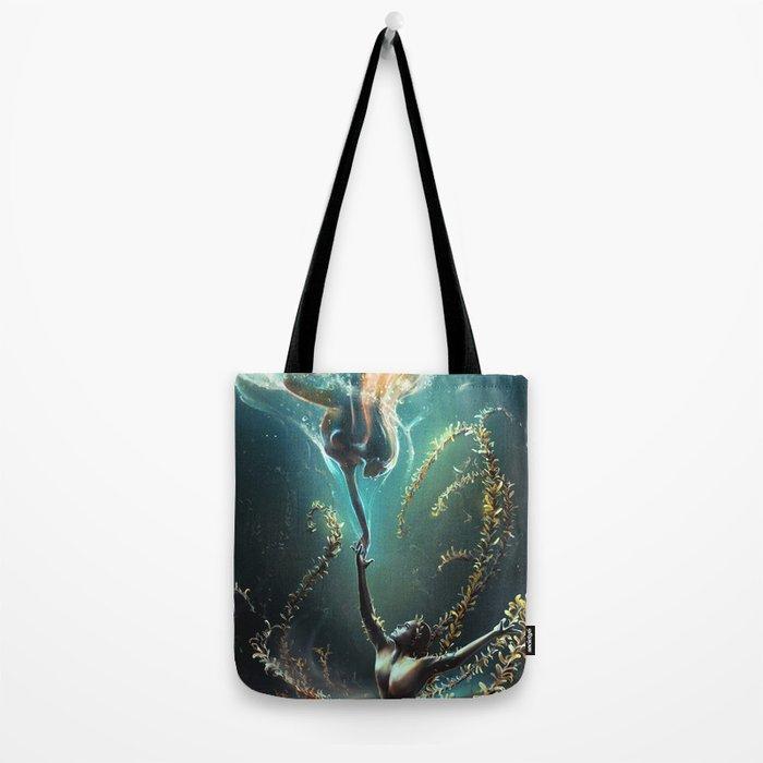 Underwater ballet Tote Bag