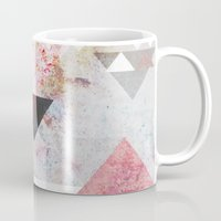 collage Mugs featuring Graphic 3 by Mareike Böhmer