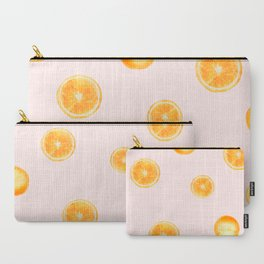 Orange watercolor Carry-All Pouch