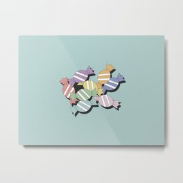 candy together - single Metal Print
