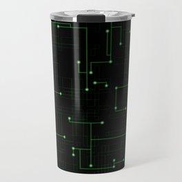 Electric Maze Travel Mug