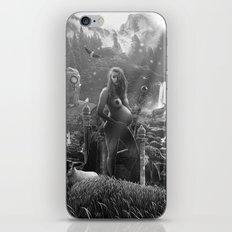 III. The Empress Tarot Card Illustration iPhone & iPod Skin