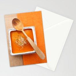 Pumpkin soup Stationery Cards