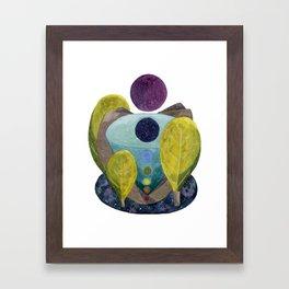 Cosmic Centers Framed Art Print