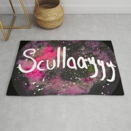 Scullayyy Pink Space Nebula Rug