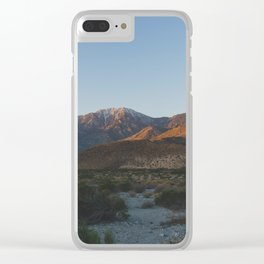 Mt San Jacinto - Pacific Crest Trail, California Clear iPhone Case