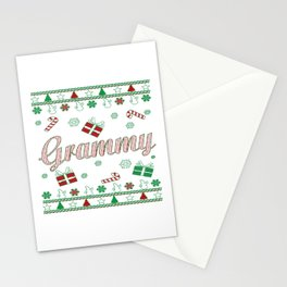 Grammy Christmas Stationery Cards