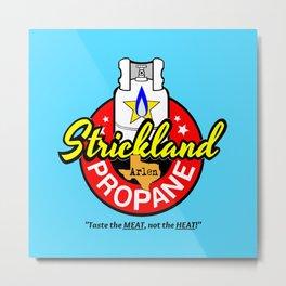 Strickland Propane  |  Arlen Texas Metal Print