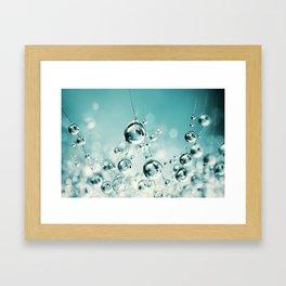 Cactus Candy Blue Framed Art Print