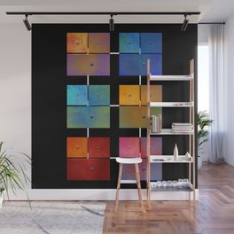Rusty - One to Eighteen #abstract #design #society6 #decor Wall Mural