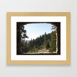 Nature Postcard Framed Art Print