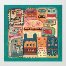 Instant drôlatique-8h37  Canvas Print