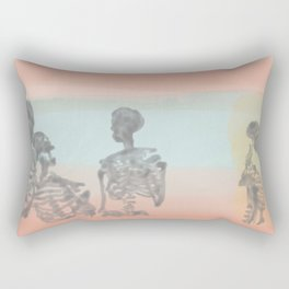 Skeleton Gab Rectangular Pillow
