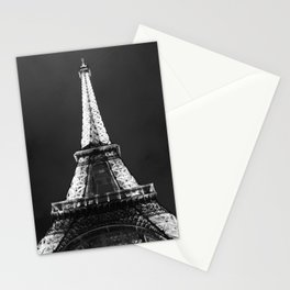 retro eiffel tower  Stationery Cards