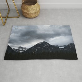 Mountains   Minimalist Landscape Photography   Jasper Alberta Rug