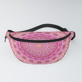 Kaleidoscope Mandala Vibrant Pinks Fanny Pack