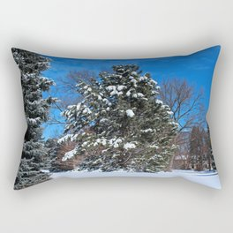 Tenacious Winter Rectangular Pillow