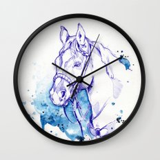 Blue Rodeo Wall Clock