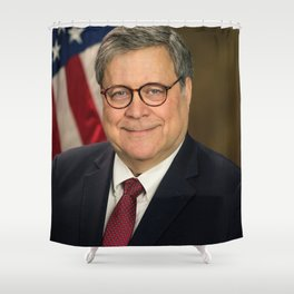 Attorney General William Barr Official Portrait Shower Curtain