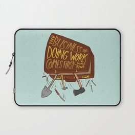 Mike Rowe Laptop Sleeve