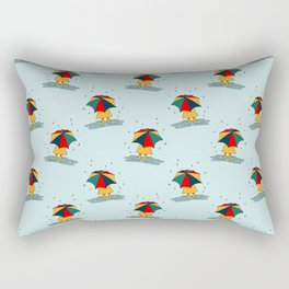 Rainy Day Rectangular Pillow