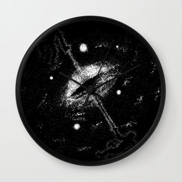 Birth of a Universe Wall Clock