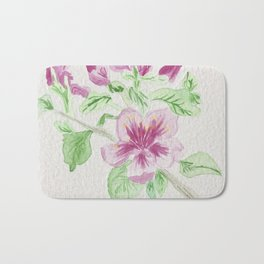 Flower on a Vine Bath Mat