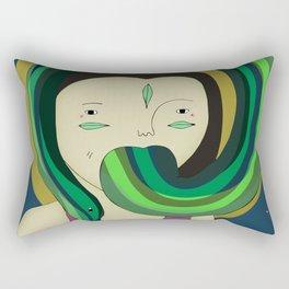 Self Portrait V Rectangular Pillow