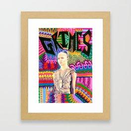 Grimes Framed Art Print
