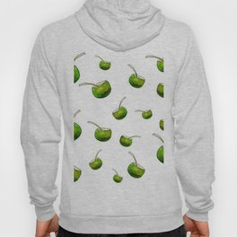 White coconut drink Hoody