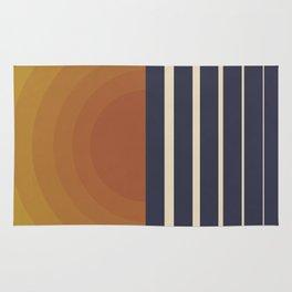 Retro Sunset Rug