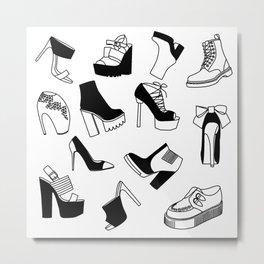 Shoe Cravings Metal Print