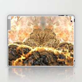 Coral Above the Sun Laptop & iPad Skin