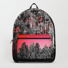 Gray Trees Candy Apple red Sky Backpack