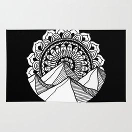 Mountain Mandala Rug