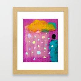 Cotton Candy Conundrum Framed Art Print