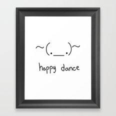 Happy Dance Framed Art Print