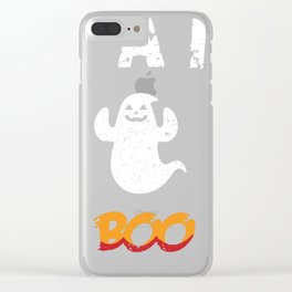 I am Fabboolous - Funny Halloween Clear iPhone Case