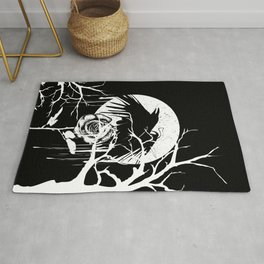 Raven and Rose Rug