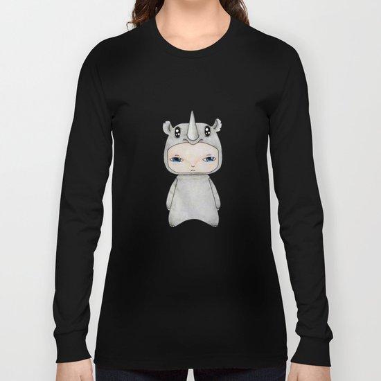 A Boy - Rhino Long Sleeve T-shirt