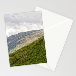 Umbrian hills Italy Stationery Cards