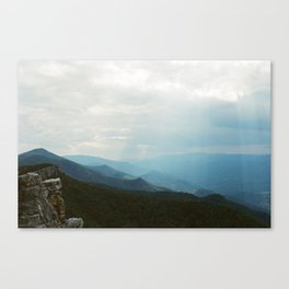 North Fork Mountain; West Virginia Canvas Print