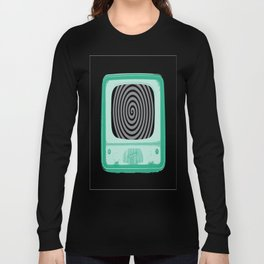 Hypnotized by Television Long Sleeve T-shirt