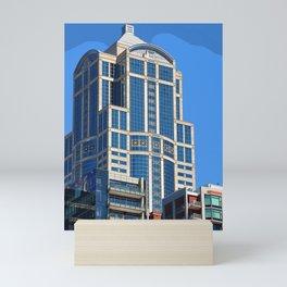 Blue Windows Mini Art Print